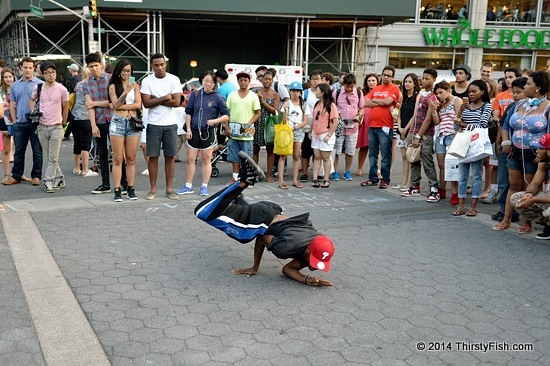 Breakdance At Union Square