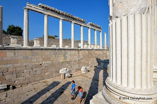 The Temple of Trajan at Pergamon