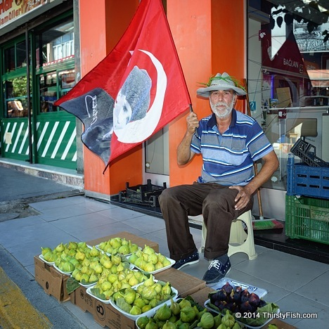 Selling Figs In Urla - The Silent Protest