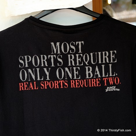 Real Sports Require Two Balls