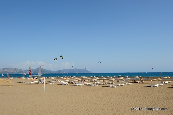Clear Skies Over Sarigerme Beach