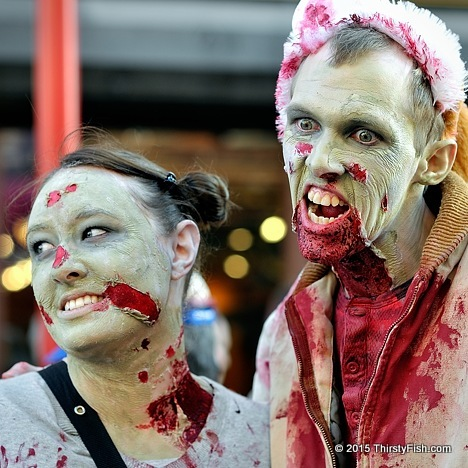 Philadelphia Zombie Couple