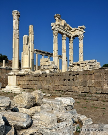The Ruins of Pergamon