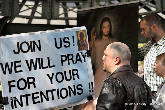 We Will Pray For Your Intentions