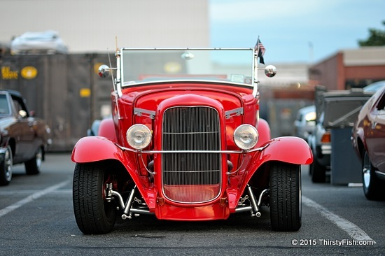 Hot Rod Sunset