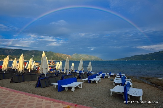 Full Rainbow Over Marmaris
